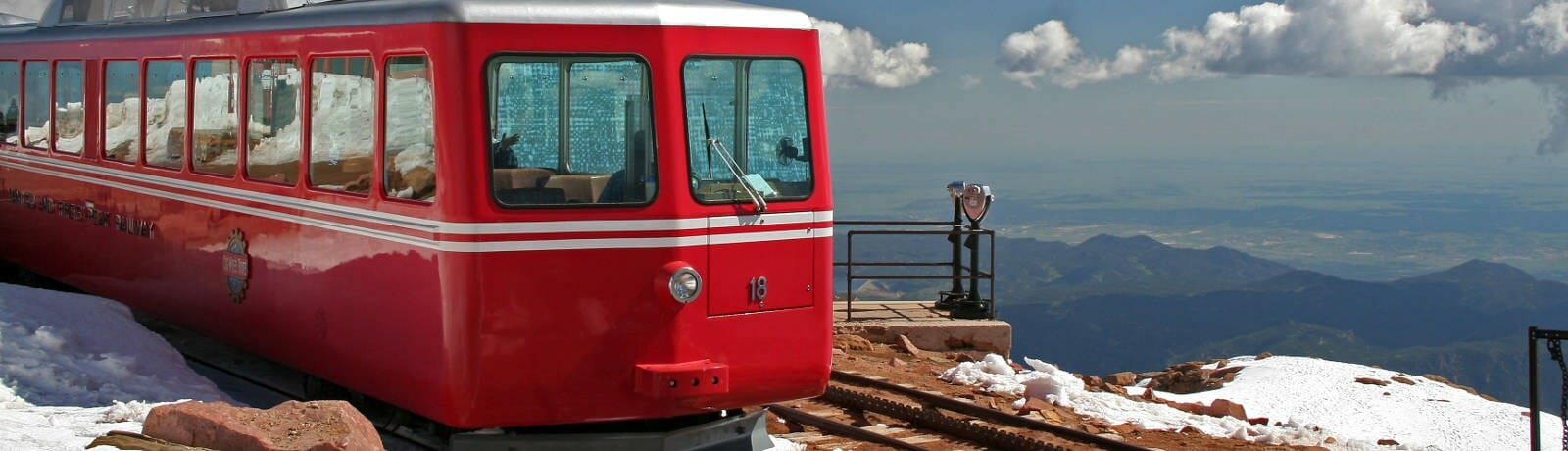 Pikes Peak railcar