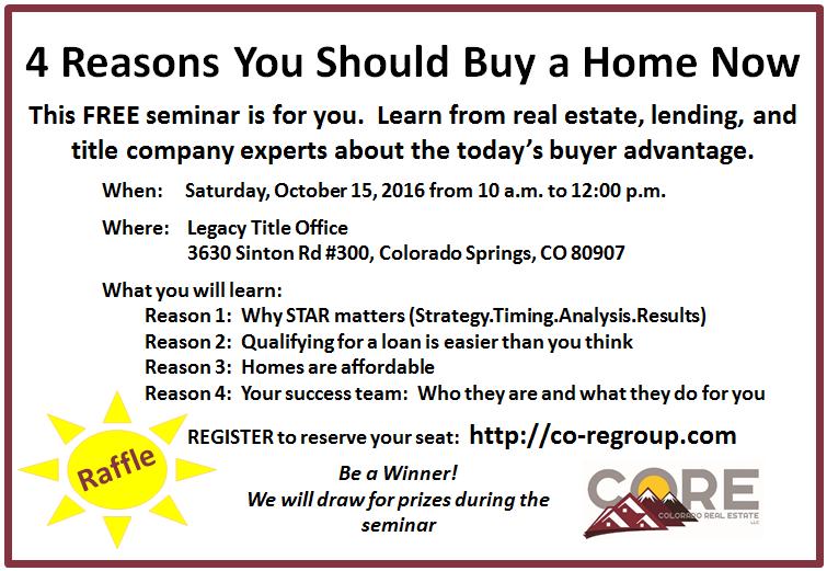 buyer home seminar
